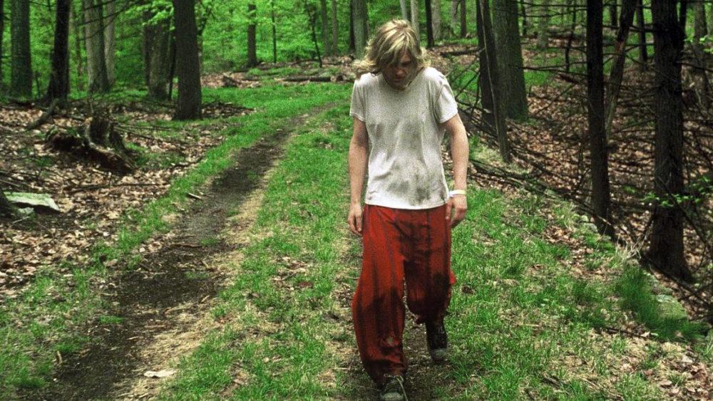 Блейк гуляет по лесу