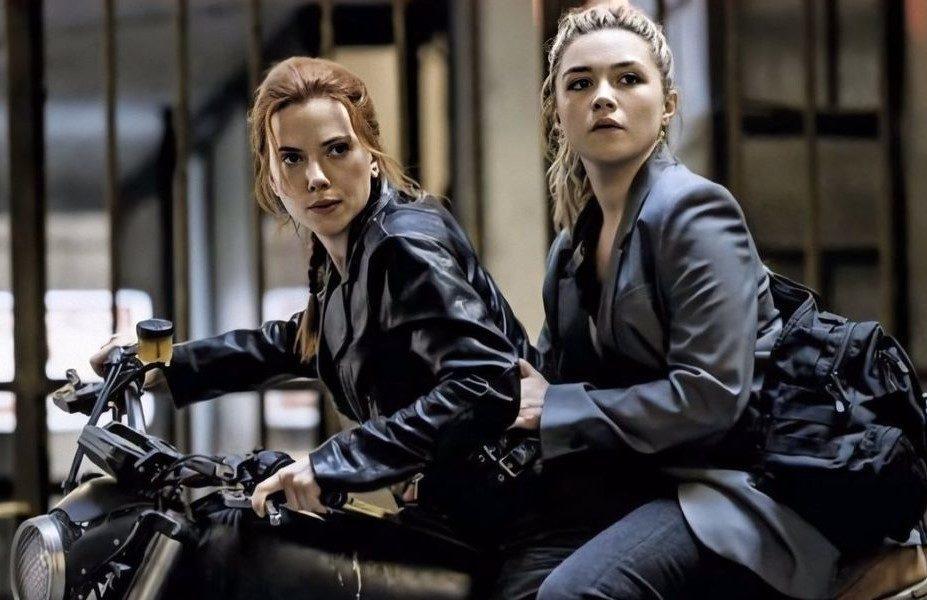 Черная Вдова Наташа и Лена